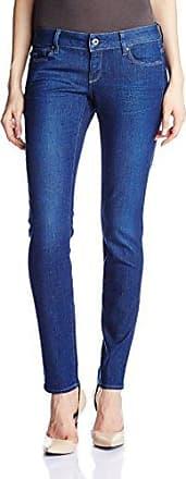 G-Star Womens 3301 Low Skinny Benwick Stretch Denim Dark Aged Jean, Dark  Aged