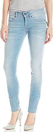 G-Star Womens Midge Cody Midrise Skinny Mauro Stretch Denim Light Aged Jean,  Light