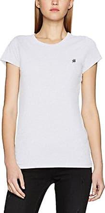 G-Star G-Star 14 Slim V T Wmn S/s, Camiseta para Mujer, Blanco (White), 40 (Talla del Fabricante: X-Large)