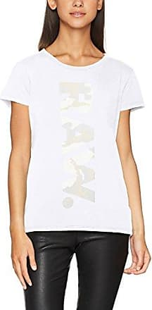 G-Star Core Slim Shirt Wmn Long Sleeve, Blusa para Mujer, Blanco (White 110), XX-Small