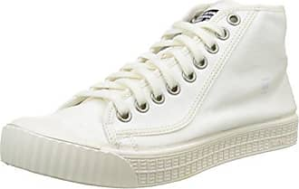 G-Star Raw Rovulc Mid Wmn, Zapatillas para Mujer, Blanco (White 110), 36 EU G-Star