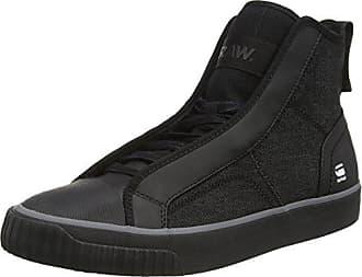 G-STAR RAW Scuba, Sneakers Hautes Homme, Noir (Black 990), 45 EU