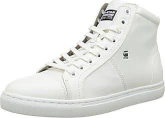 G-Star Raw Falton Wmn Mesh Hi Bright White, Schuhe, Sneaker & Sportschuhe, Hohe Sneaker, Weiß, Female, 36