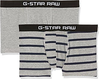 Tach Trunk Stripe 2 Pack, Pantalones Cortos para Hombre, Multicolor (Grey Htr/Imperial Blue Ao 8514), X-Large G-Star