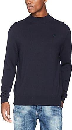 RC Core Mock Turtle Knit L/s, Suéter para Hombre, Negro (Dk Black 6484), X-Large G-Star