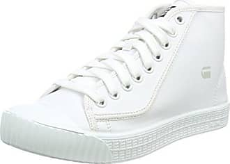G-Star Raw Rovulc Mid Wmn, Zapatillas para Mujer, Blanco (White 110), 39 EU