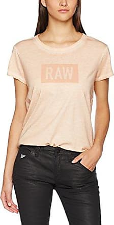 G-Star G-Star Silber Cropped R T Wmn S/s, Camiseta para Mujer, Multicolor (Dark Black), 6 (Talla del Fabricante: Small)