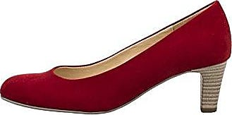 Gabor Damen Pumps Rot + Lila; Hell Größe 40 Rot (Rot)