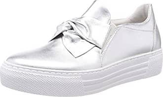 Gabor Shoes Comfort, Zapatillas para Mujer, Plateado (a Silber/Lgrey/ARG. 42), 44 EU