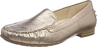 Gabor Shoes Gabor Casual, Mocasines para Mujer, Verde (Oliv Natur), 42 EU