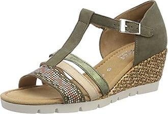 Gabor Shoes Comfort Sport, Sandales Bride Cheville Femme, Multicolore (Puder Grata), 35.5 EU