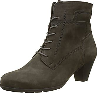 Gabor Shoes Comfort Basic, Bottes Femme, Gris (Vulcano Micro), 35.5 EU