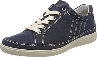 Comfort Basic, Zapatos de Cordones Derby para Mujer, Azul (Nightblue), 37.5 EU Gabor