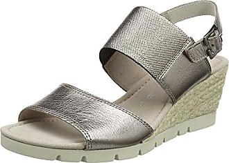 Gabor Shoes Comfort Sport, Mules para Mujer, Multicolor (Silber), 42.5 EU
