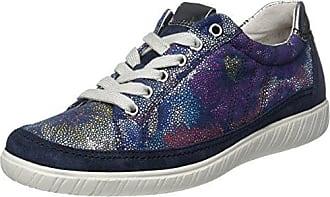 Gabor Shoes Comfort, Zapatillas para Mujer, Azul (Ocean/Argento 36), 35.5 EU