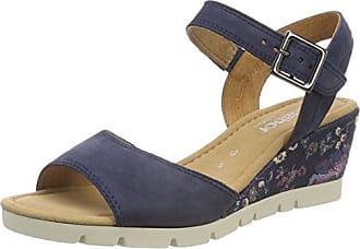 Blu 38.5 EU Gabor Shoes Comfort Sport Sandali con Cinturino alla Caviglia 18d