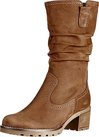 Gabor Shoes Gabor Fashion, Bottes Femme, Marron (18 Nougat/Bronce), 39 EU