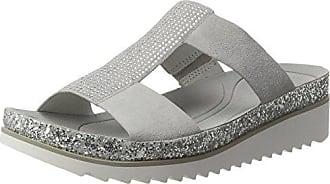Gabor Shoes Damen Jollys Pantoletten, Grau (Stone Glitter), 38 EU