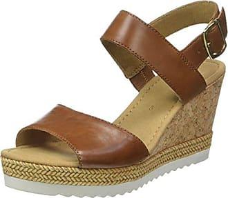 Gabor Shoes Fashion, Sandales Bout Ouvert Femme, Beige (Light Nude 14), 42.5 EU