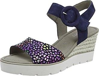 Gabor Shoes Gabor Basic, Mules para Mujer, Azul (Bluette), 42 EU