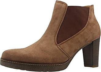 CINQUE Damen Schuhe Stiefelette aus Veloursleder braun