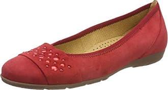 Gabor Shoes Damen Basic Pantoletten, Rot (Rosso), 35.5 EU