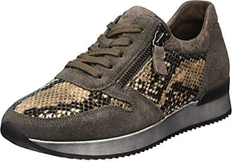 Comfort Basic, Zapatos de Cordones Derby para Mujer, Azul (Navy/Ocean), 37 EU Gabor