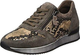 Gabor Shoes Gabor Casual, Zapatos de Cordones Derby para Mujer, Blanco (Ice/Silber), 42 EU