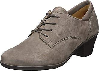Gabor Shoes Gabor Casual, Zapatos de Cordones Derby Para Mujer, Azul (Ocean/Darkbl./Pazi), 37.5 EU