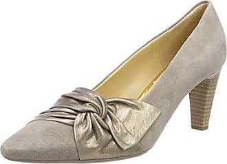 Gabor Shoes Gabor Basic, Zapatos de Tacón para Mujer, Multicolor (68 Bronce), 43 EU
