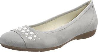 Gabor Shoes Fashion, Mocassins Femme, Gris (Aquamarin/Sky 18), 39 EU