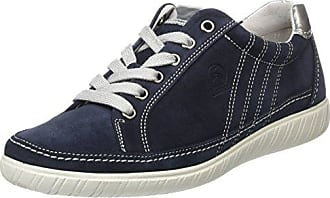 Gabor Shoes Comfort, Sneakers Basses Femme, Bleu (Ocean/Argento 36), 44 EU