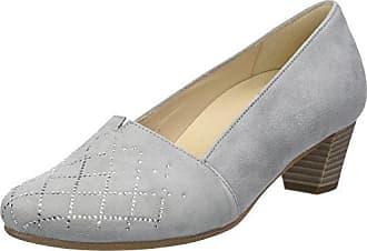 Gabor Shoes Damen Comfort Basic Geschlossene Ballerinas, Grau (Argento), 35.5 EU