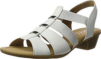 100040DOF - Sandalias de Punta Descubierta Mujer, Color Marrón, Talla 38 EU Gabor
