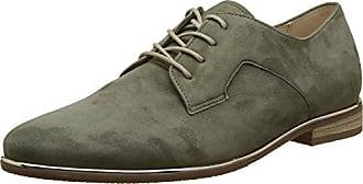 Gabor Jollys, Zapatos de Cordones Derby para Mujer, Verde (Oliv), 35 EU Gabor