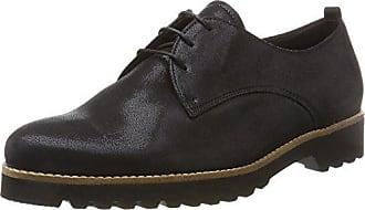 Gabor Shoes Comfort Sport, Zapatos de Cordones Derby para Mujer, Azul (Ocean Kork), 40.5 EU
