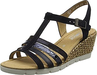 Gabor Shoes Gabor Basic, Sandales Bride Cheville Femme, Marron (Visoneeffekt Met), 39 EU