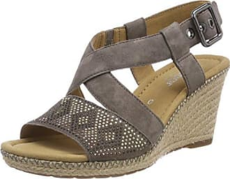 Gabor Shoes Fashion, Sandales Bout Ouvert Femme, (Peanut 22), 41 EU
