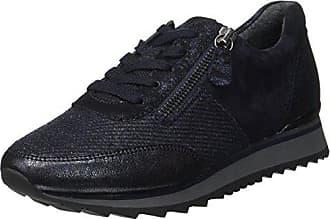 Gabor Shoes Gabor Sport, Zapatos de Cordones Derby para Mujer, Azul (Nightbl./Blue/Silb), 37.5 EU