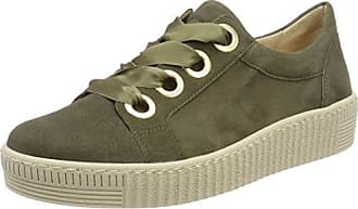 Gabor Shoes Gabor Casual, Zapatos de Cordones Derby Para Mujer, Gris (Grau/Stone/Delfin), 42 EU