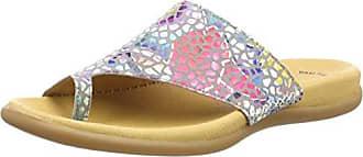 Gabor Shoes Gabor Basic, Mules para Mujer, Gris (Stone), 35.5 EU