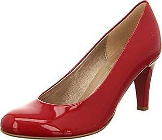 Minitoo , Damen Pumps, rot - Red-6.5cm Heel - Größe: 43