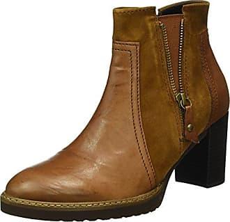 Gabor Shoes Gabor Fashion, Botines para Mujer, Marrón (Castagno Effekt), 40.5 EU