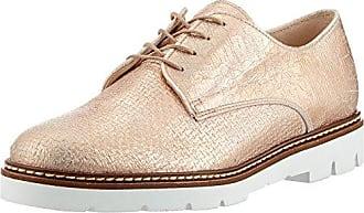 64.411, Zapatos de Cordones Mujer, Beige (Silk 12), 40.5 EU Gabor