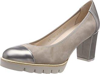 Gadea Miro, Zapatos de Tacón con Punta Cerrada para Mujer, Marrón (Caoba), 37 EU