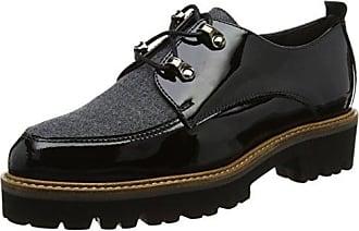 Gadea, Zapatos de Cordones Derby para Mujer, Azul (Velvet Navy), 39 EU