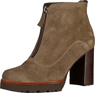 GADEA »Leder« High-Heel-Stiefel, braun, EURO-Größen, braun