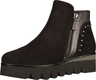 GADEA »Leder« Stiefelette, schwarz, EURO-Größen, schwarz