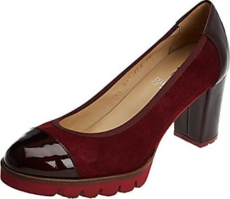 3003401, Zapatos de Tacón con Punta Cerrada para Mujer, Rojo (Rot 021), 37 EU Hirschkogel