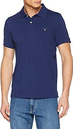 GANT Tech Prep Jersey Rugger, T-Shirt à Manche Courte Homme, (Classic Blue), Medium